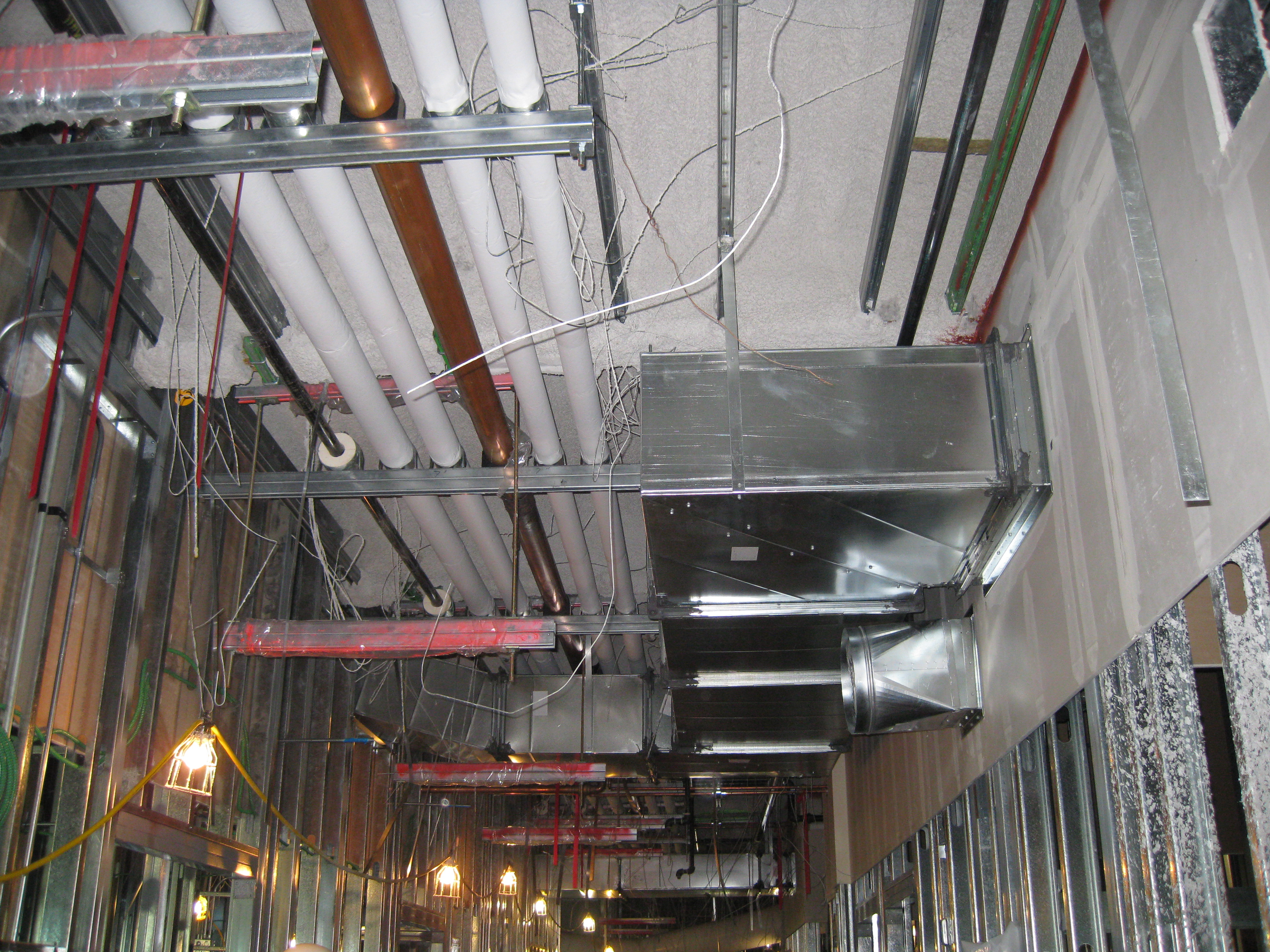 healthcare building ductwork