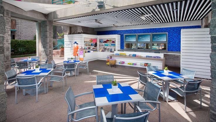Hyatt Gainey Ranch H2Oasis Resort Pool Cafe