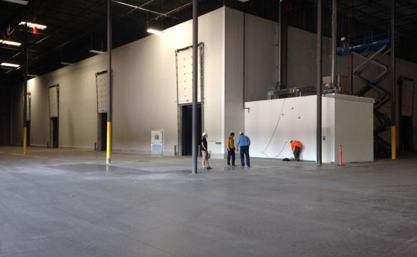 Wine & Keg Warehouse Construction